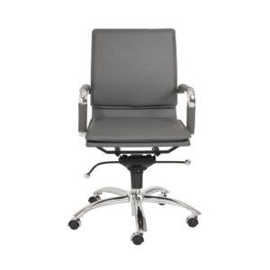Eurostyle Grey Gunar Pro office rolling chair