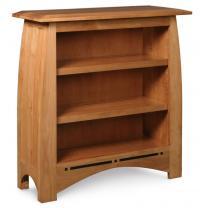 Simply Amish Aspen short bookcase
