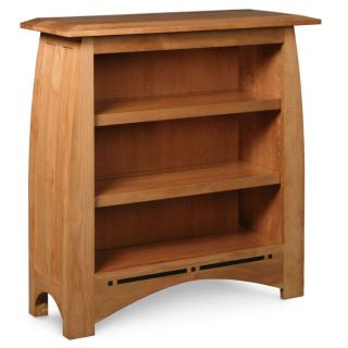 Simply Amish Aspen short bookcase
