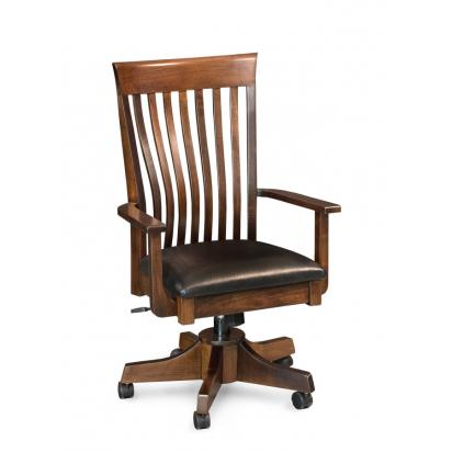 Simply Amish Loft II rolling office chair