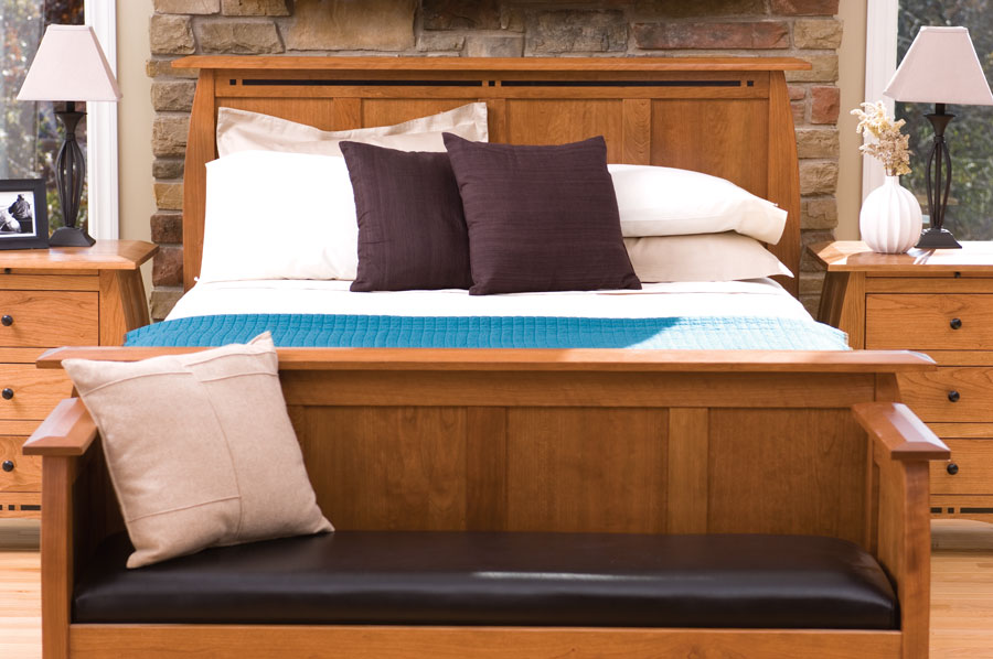 Aspen Panel Bed David Chase Furniture And Design