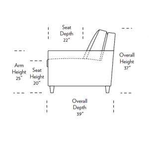 Conley Comfort Sleeper Dimensions