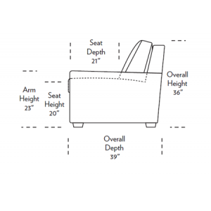 Klein Comfort Sleeper Dimensions