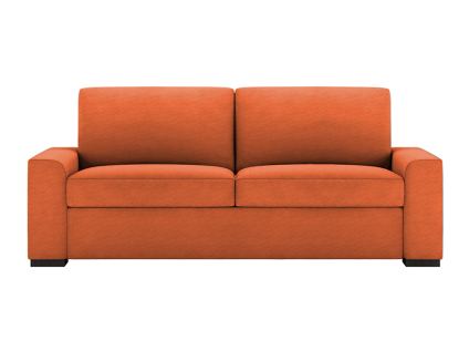 Orange Olson Comfort Sleeper